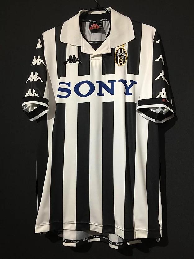 1999ユベントスsonyロゴユニフォーム
