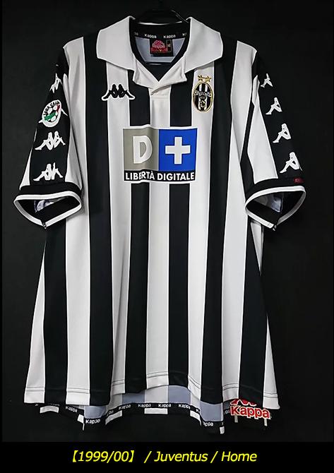 1999-00ユベントスユニフォーム