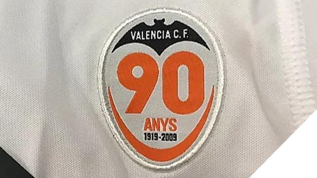 バレンシア90周年記念ロゴ