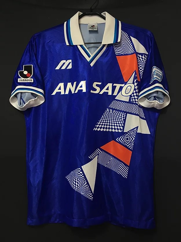 1993横浜フリューゲルスのアウェイユニフォーム