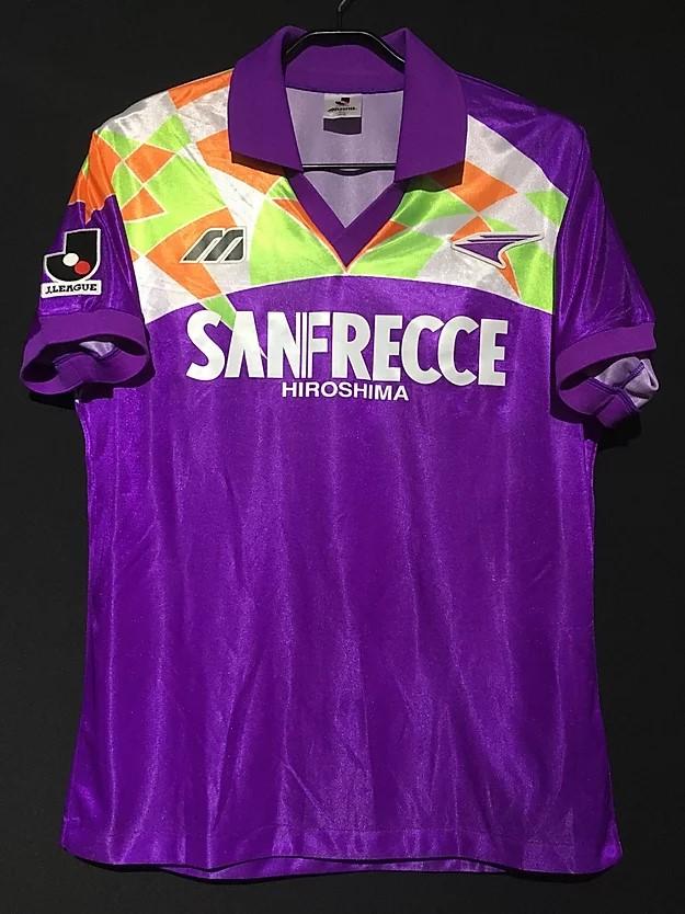 1993サンフレッチェ広島のユニフォーム