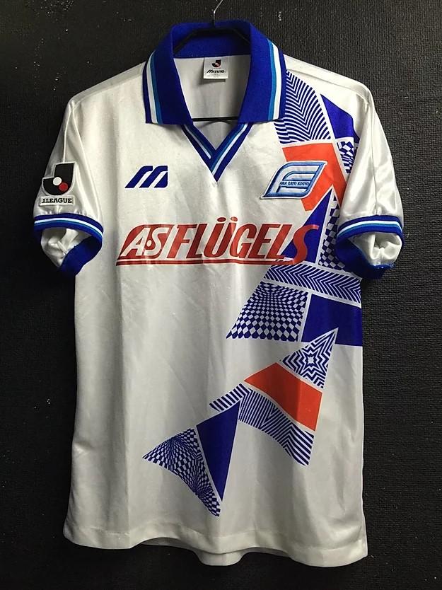 1993横浜フリューゲルスのホームユニフォーム