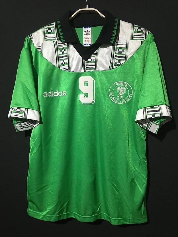 1994ナイジェリア代表ユニフォーム
