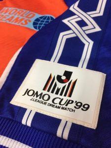 1999年JOMOカップのユニフォーム