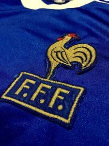 1978-79のフランス代表ユニフォームロゴ詳細