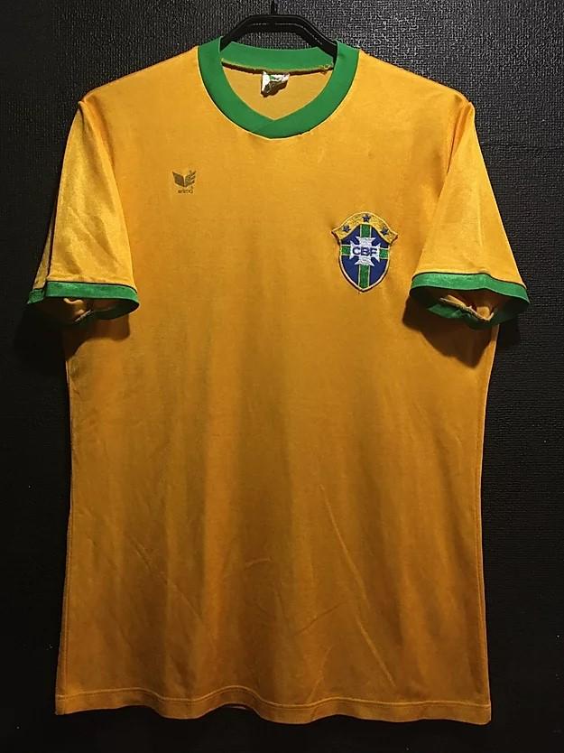 1979年のブラジル代表ユニフォーム