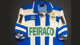 1992-93ディポルティボ・ラ・コルーニャのホームユニフォーム