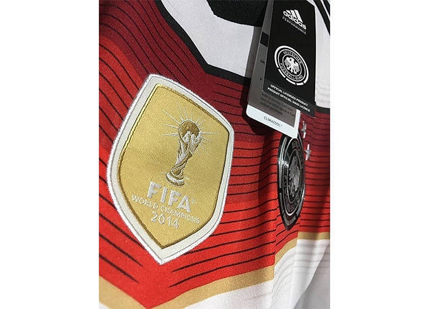 2014ドイツ代表ワールドカップ優勝記念パッチ