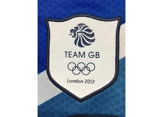 2012年ロンドンオリンピックのイギリス代表ユニフォームチームGBロゴ