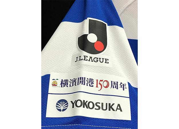 2009年横浜Fマリノス横浜開港150周年記念ユニフォー厶袖パッチ