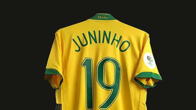 2006年ブラジル代表ジュニーニョのユニフォーム