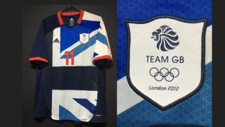 2012年ロンドンオリンピックのイギリス代表ユニフォーム