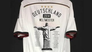 2014-15ドイツ代表ワールドカップ優勝記念ユニフォーム