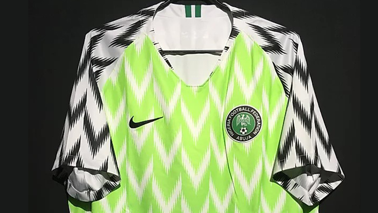 2018-19ナイジェリア代表ユニフォーム