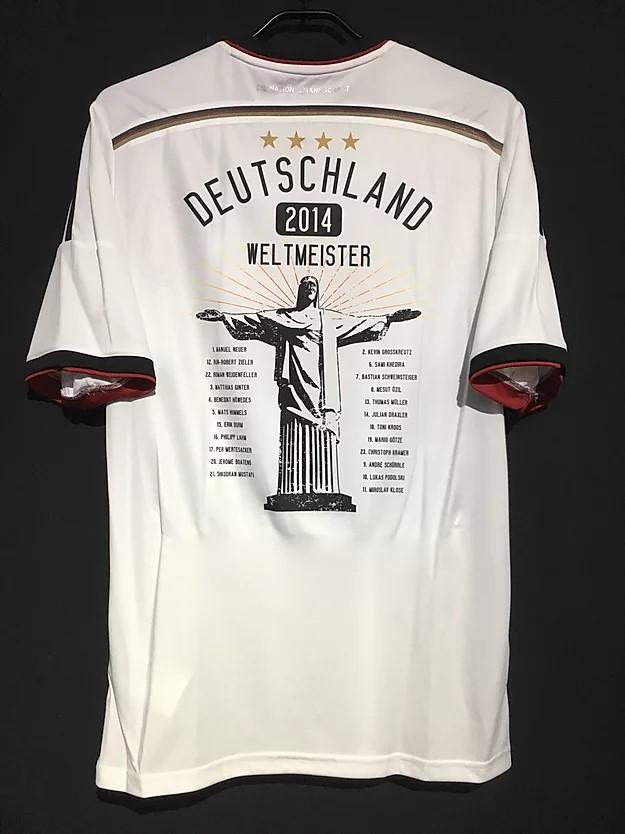 2014ドイツ代表ワールドカップ優勝記念ユニフォーム裏面