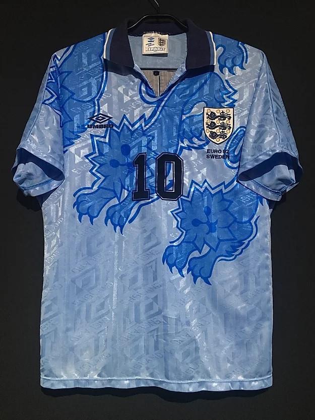 1992イングランド代表3rdユニフォーム