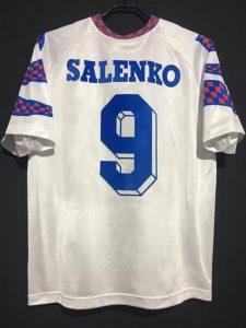 オレグ・サレンコの1994ロシア代表ユニフォーム背面