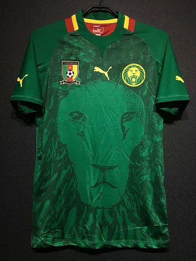 2012/13カメルーン代表のホームユニフォーム