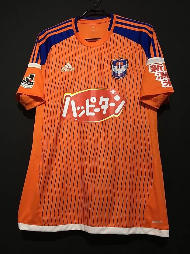 2015アルビレックス新潟 ホームユニフォーム