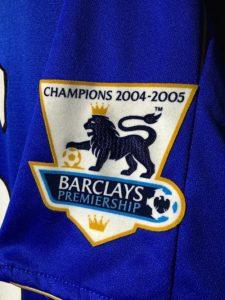2005/06チェルシー100周年ホームユニフォームプレミアパッチ