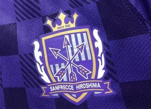 佐藤寿人の2012サンフレッチェ広島ホームユニフォームチームエンブレム
