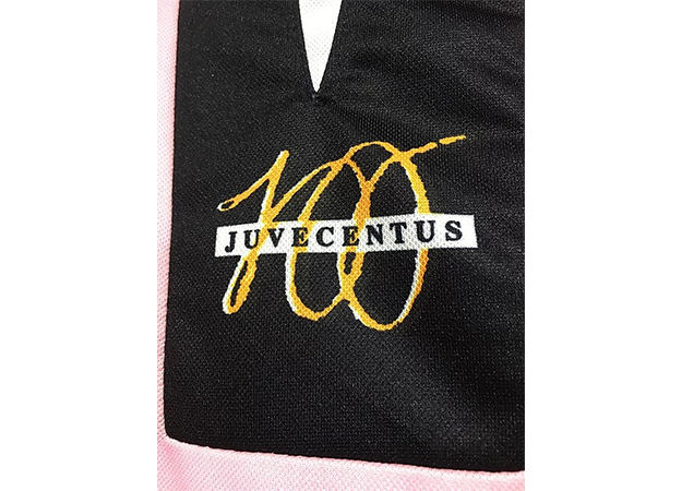 1997-98ユベントス100周年記念ユニフォームロゴ