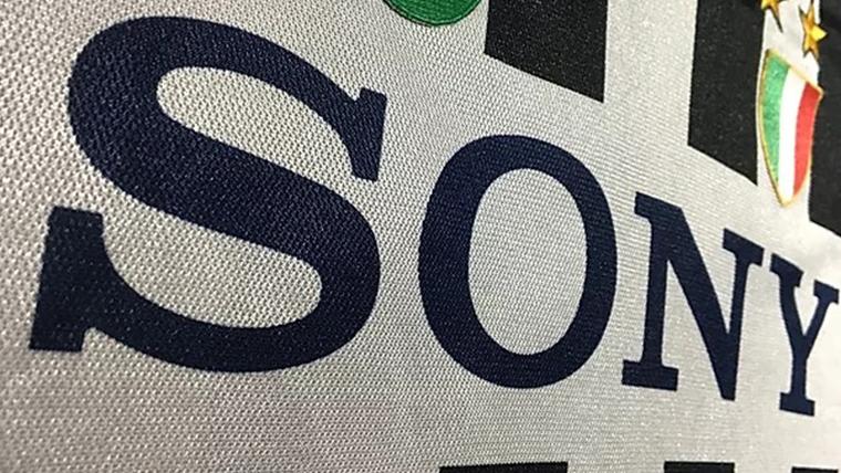 ユベントスsonyロゴユニフォーム