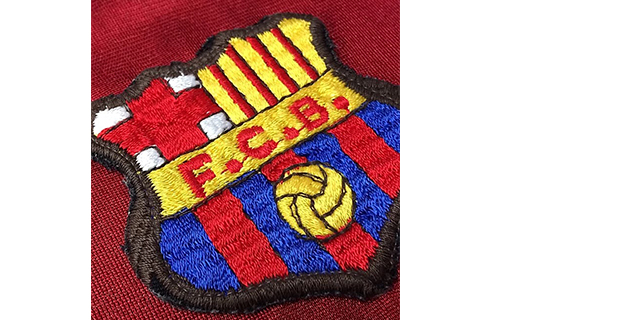 1982-90FCバルセロナユニフォームロゴマーク