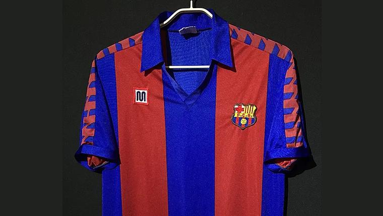 1982-90FCバルセロナユニフォーム
