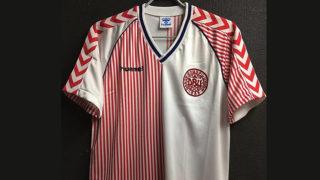 1986年デンマーク代表ユニフォーム