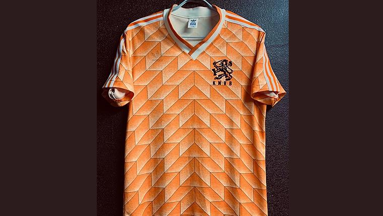 1988年オランダ代表ホームユニフォーム