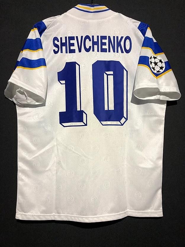 シェフチェンコの1997/98ディナモキエフのチャンピオンズリーグユニフォーム