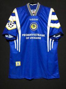 1997/98ディナモキエフのチャンピオンズリーグホームユニフォーム