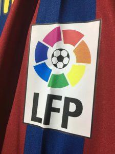 2005/06バルセロナホームユニフォームのLFPパッチ