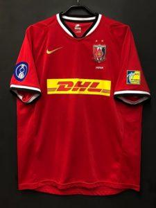 2007年の浦和レッズACL優勝記念ユニフォーム前面
