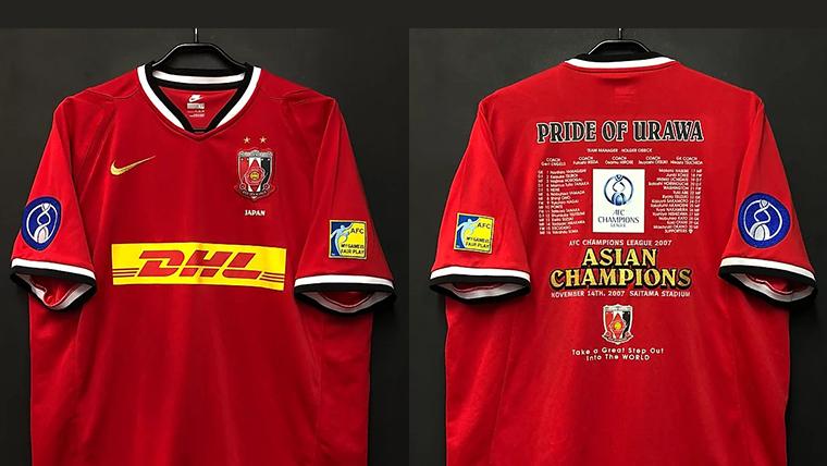 2007年の浦和レッズACL優勝記念ユニフォーム