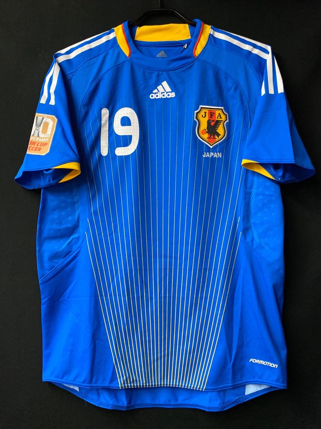 2009年キリンカップ30周年記念パッチ付日本代表ユニフォーム