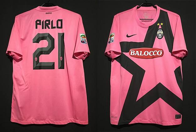 ピルロの2011-12ユベントスのアウェイユニフォーム