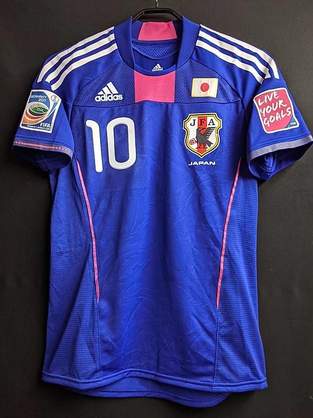 澤穂希の2011年日本代表ユニフォームの前面