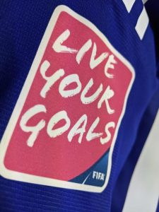LIVE YOUR GOALSロゴパッチ
