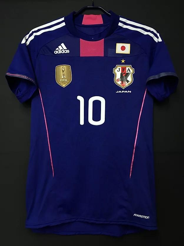ワールドカップチャンピオンパッチ付2011年日本代表ユニフォーム