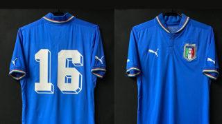 イタリア代表の1982年W杯優勝30周年記念ユニフォーム