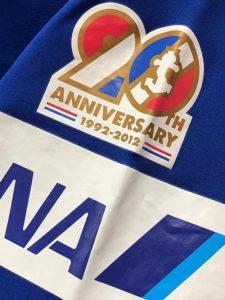 2012年横浜F・マリノス20周年記念ユニフォームの記念パッチ