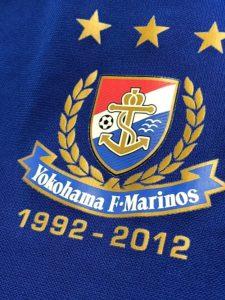 2012年横浜F・マリノス20周年記念ユニフォームのエンブレム詳細