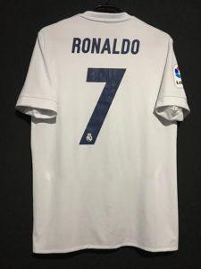 クリスティアーノ・ロナウドの2016-17レアルマドリードParleyユニフォーム