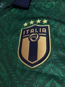 2019年イタリア代表3rdユニフォームのエンブレム