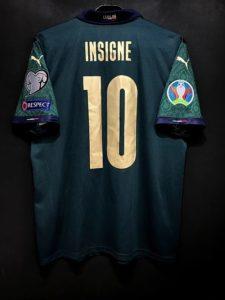 インシーニェの2019年イタリア代表3rdユニフォーム