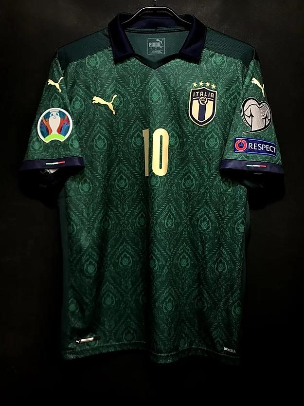 2019年イタリア代表3rdユニフォーム前面