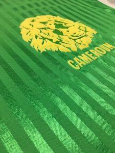 1990年カメルーン代表ユニフォーム