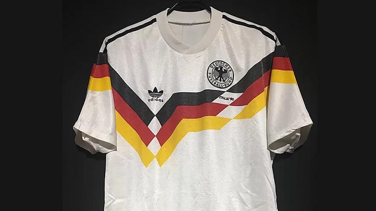 1990年西ドイツ代表ユニフォーム